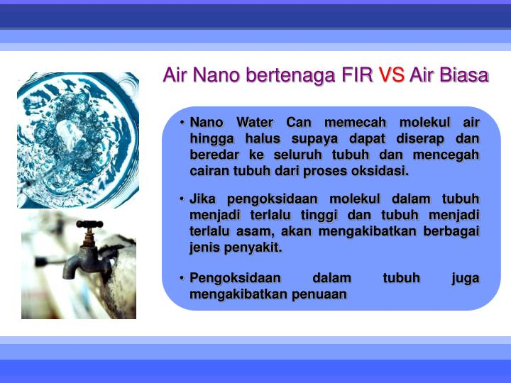 Air Nano bertenaga FIR