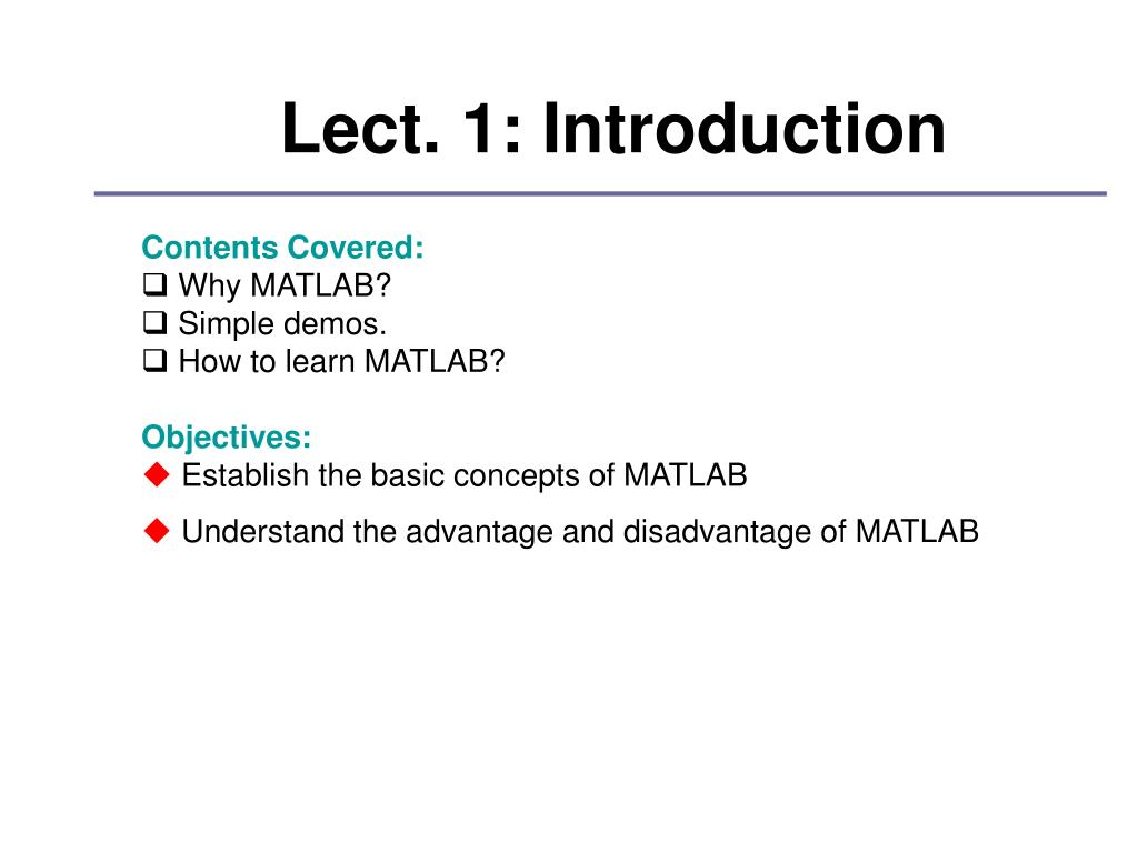 PPT - MATLAB & Its Applications In Engineering PowerPoint