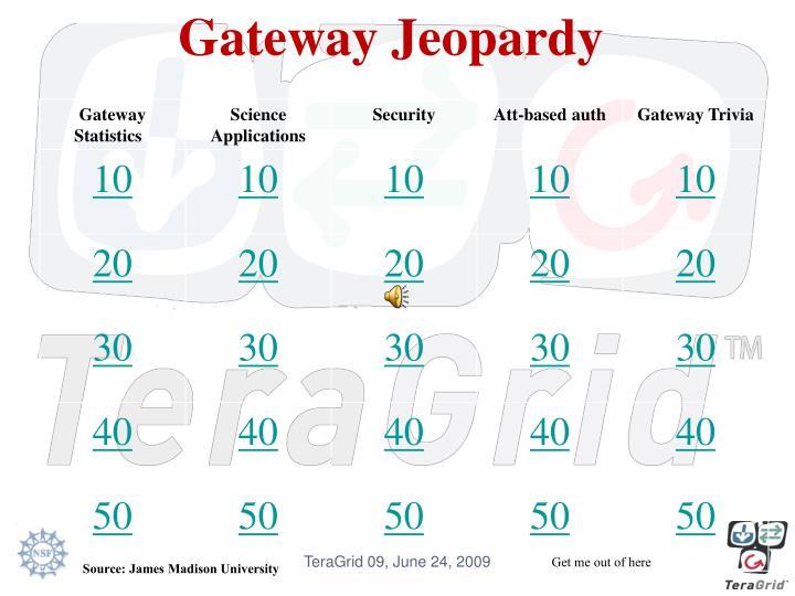 Gateway Jeopardy