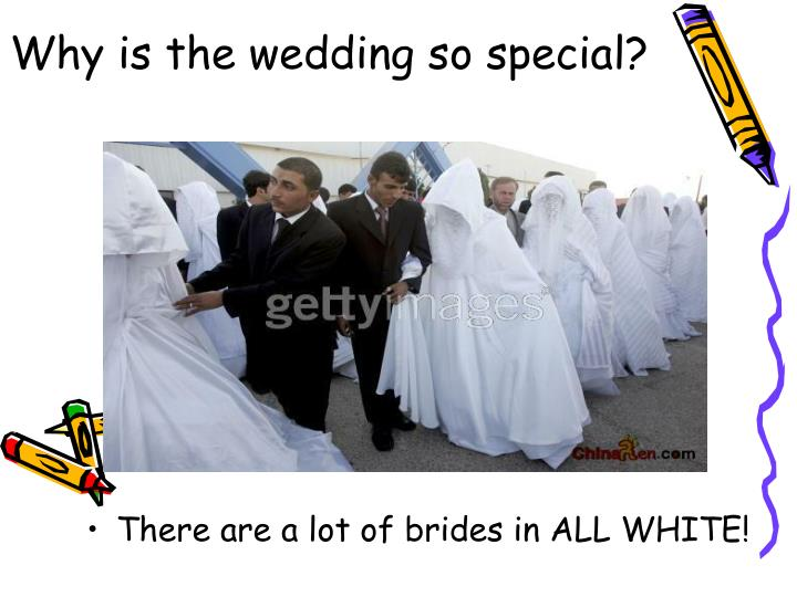 Why is the wedding so special?