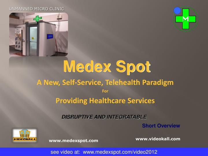 a new self service telehealth paradigm for providing healthcare services n.