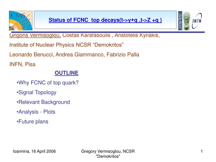 status of fcnc top decays t q t z q n.