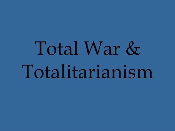 totalitarianism in pre war europe essay On the nature of totalitarianism: an essay in in the very thing it is designed to stave off—war  330 / essays in understanding are, in a way, pre.
