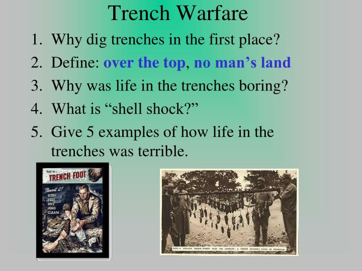 was life in the trenches hell Front line: life in the trenches of wwi home trenches routine warfare traumas game a trench was generally around two meters deep and two meters wide, the trenchlines were never built in straight lines.