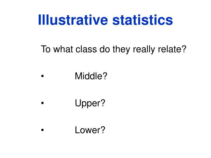 Illustrative statistics