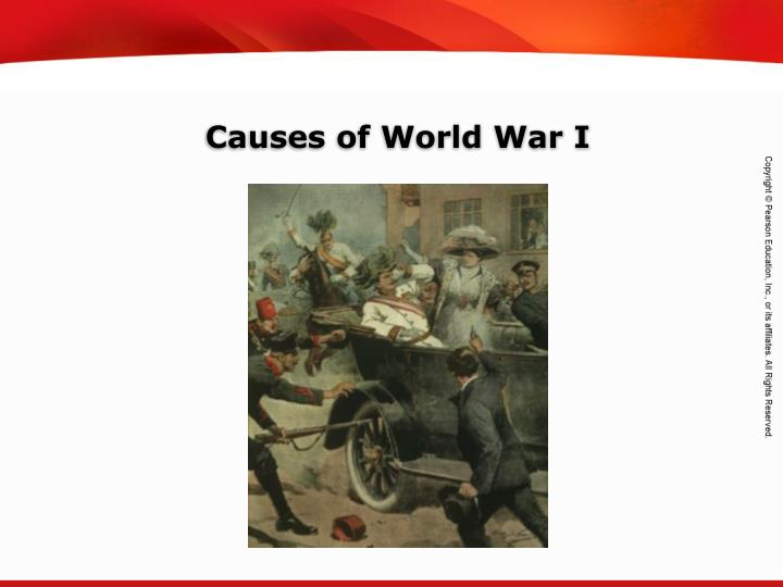 an analysis of the nationalism play in affect on the cause of world war 1 The four major roles that played in the cause of world war i were nationalism, militarism, imperialism, and the alliance system nationalism: a philosophy that is purely focused on patriotism, loyalty to one's nation and seeing it as the superior nation.