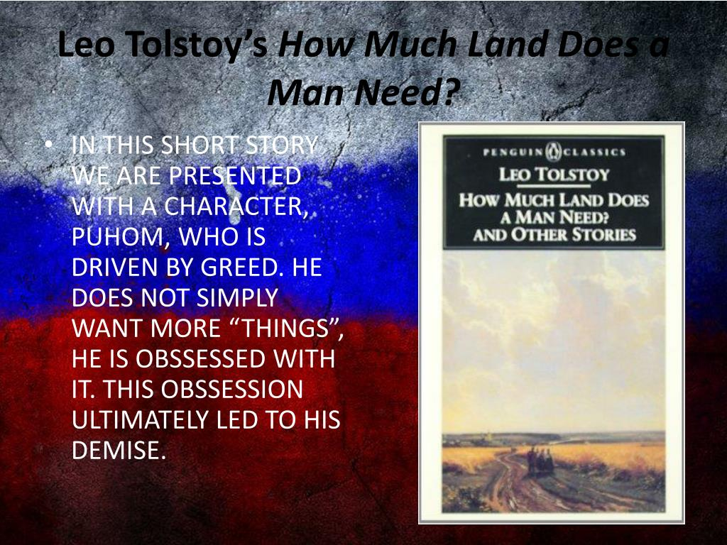 short story how much land does a man need