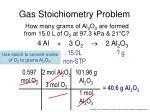 gas stoichiometry problem3