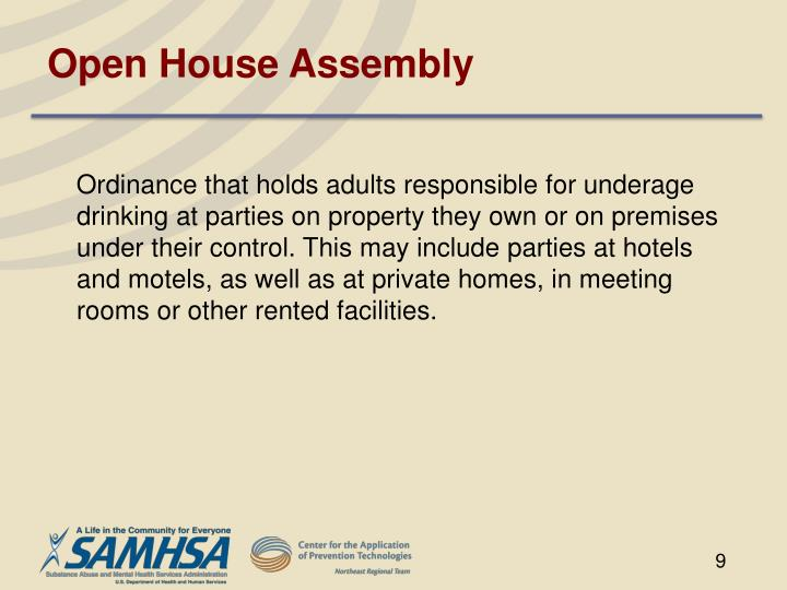 Open House Assembly
