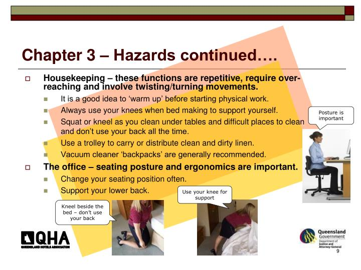 Chapter 3 – Hazards continued….