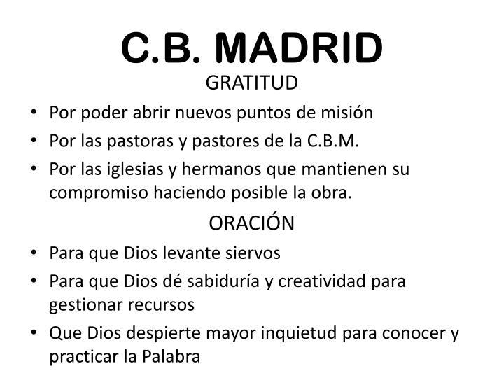 C.B. MADRID