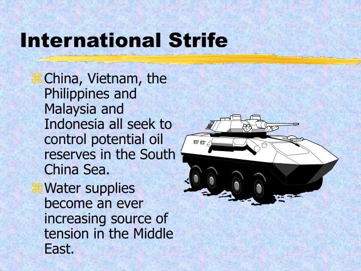 International Strife