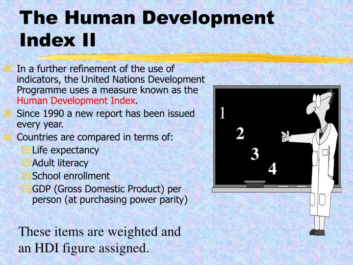 The Human Development Index II