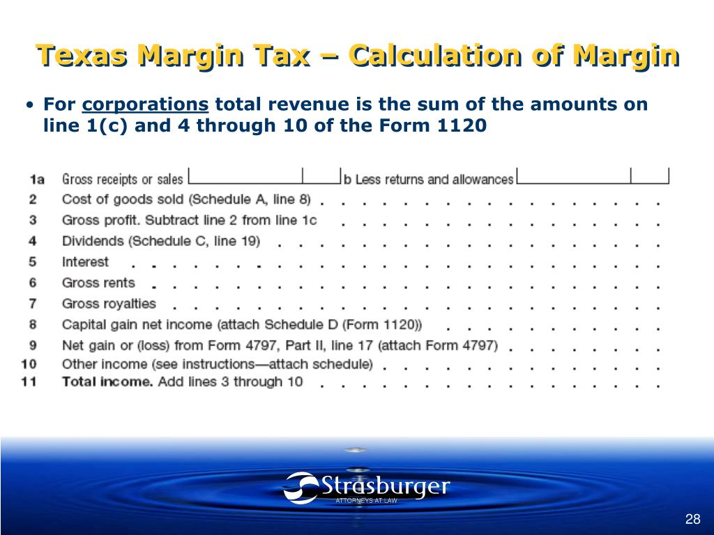 PPT - Texas Margin Tax on Business Entities PowerPoint