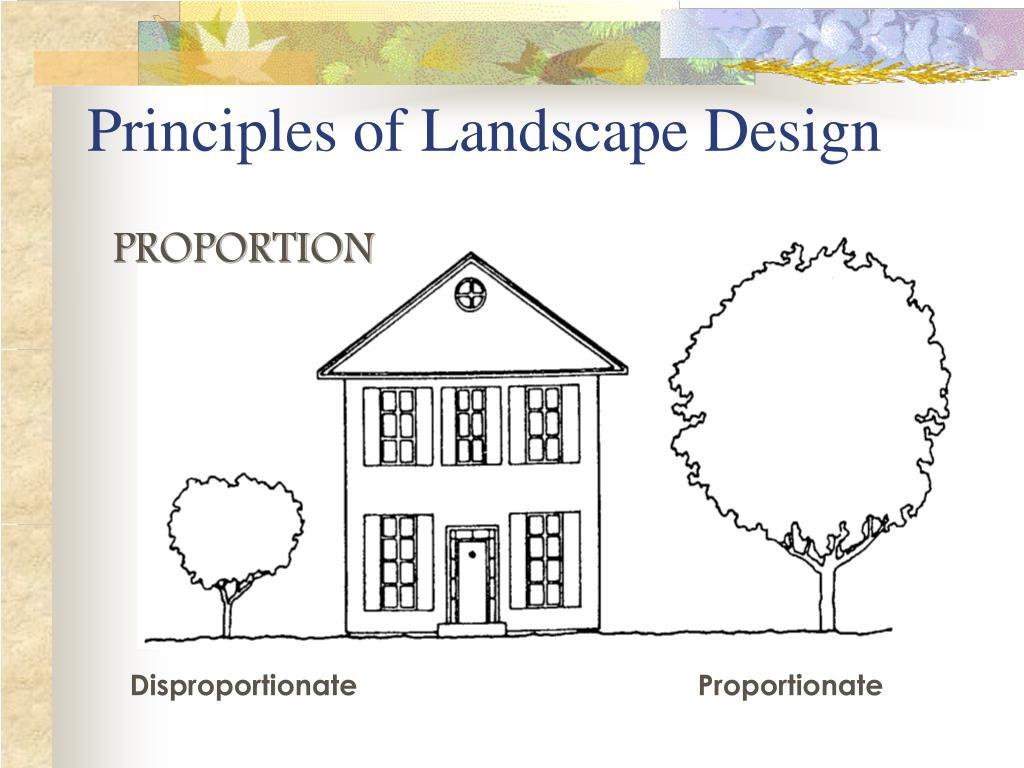 Ppt Principles Of Landscape Design Powerpoint Presentation Free