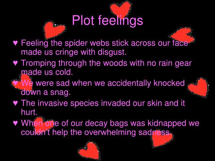 Plot feelings