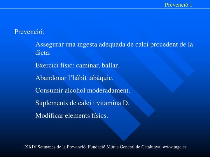 Prevenció 1