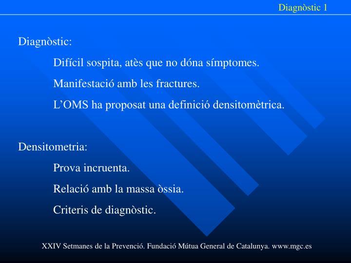 Diagnòstic 1