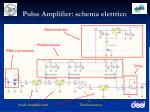 pulse amplifier schema elettrico