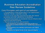 business education accreditation peer review guidelines3