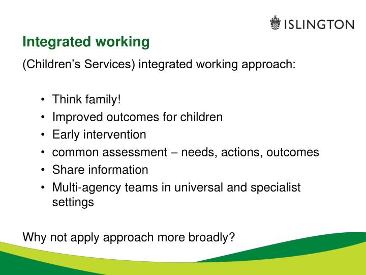 multi agency and intergrated working children and youngpersons workforce diploma level 3 The cypw diploma level 3 is the now childcare qualification for all practitioners in the early years workforce which shows occupational competence in early.