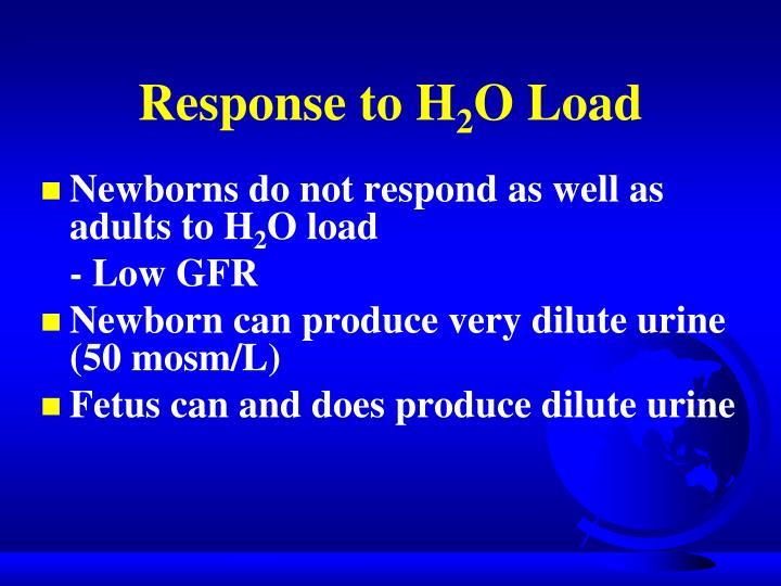 Response to H