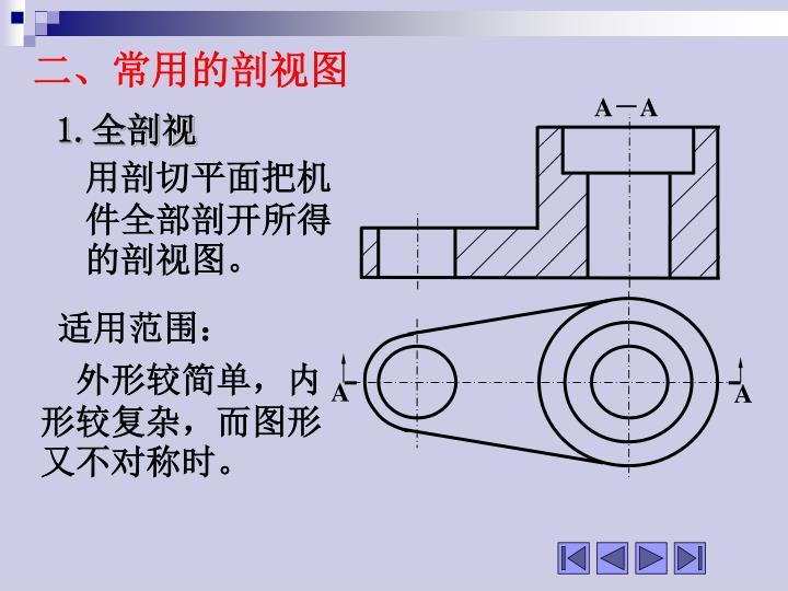 二、常用的剖视图