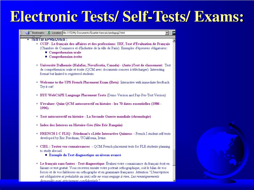 PPT - FL TECHNOLOGY STRATEGIES THAT WORK - V E-Projects, Evaluation