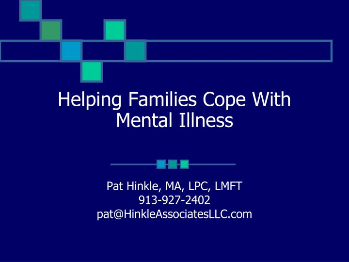 helping families cope with mental illness n.