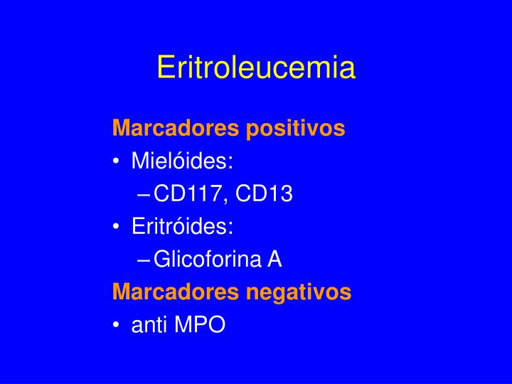 Eritroleucemia