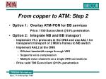 from copper to atm step 2