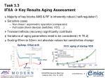 task 3 3 ifxa key results aging assessment