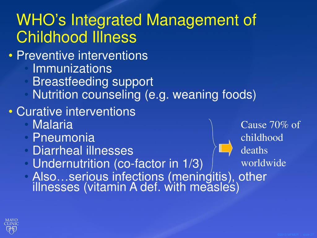 PPT - Integrated Management of Childhood Illness (IMCI ...