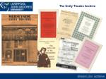 the unity theatre archive