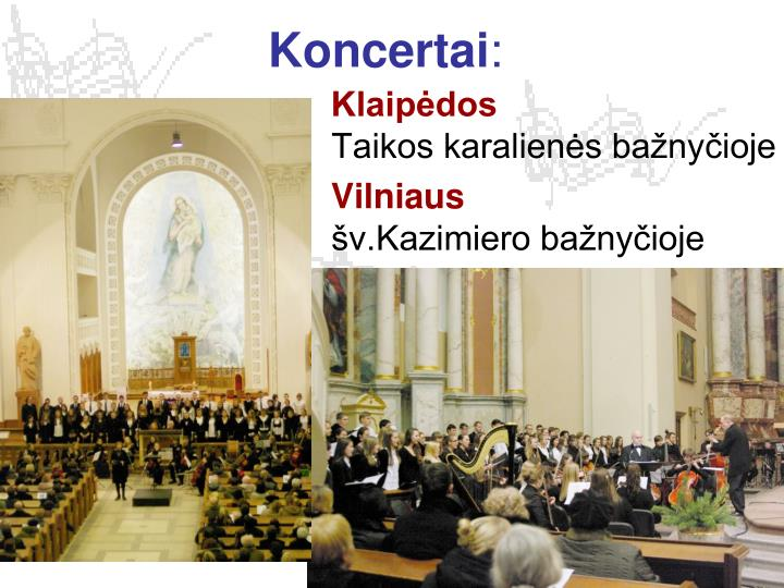 Koncertai
