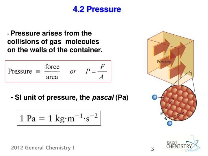 4.2 Pressure