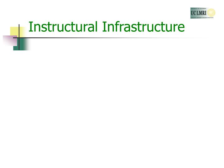 Instructural Infrastructure