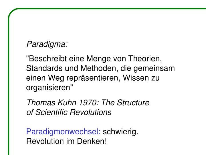 Paradigma: