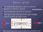 lectro aimant