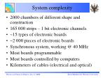 system complexity