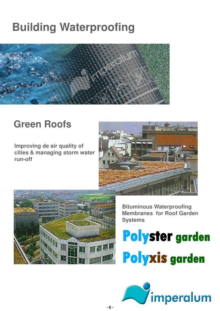 Building Waterproofing
