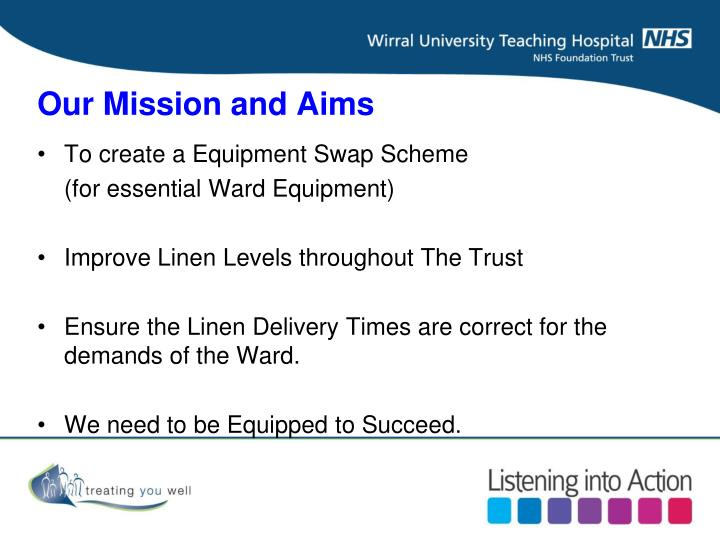 Our mission and aims