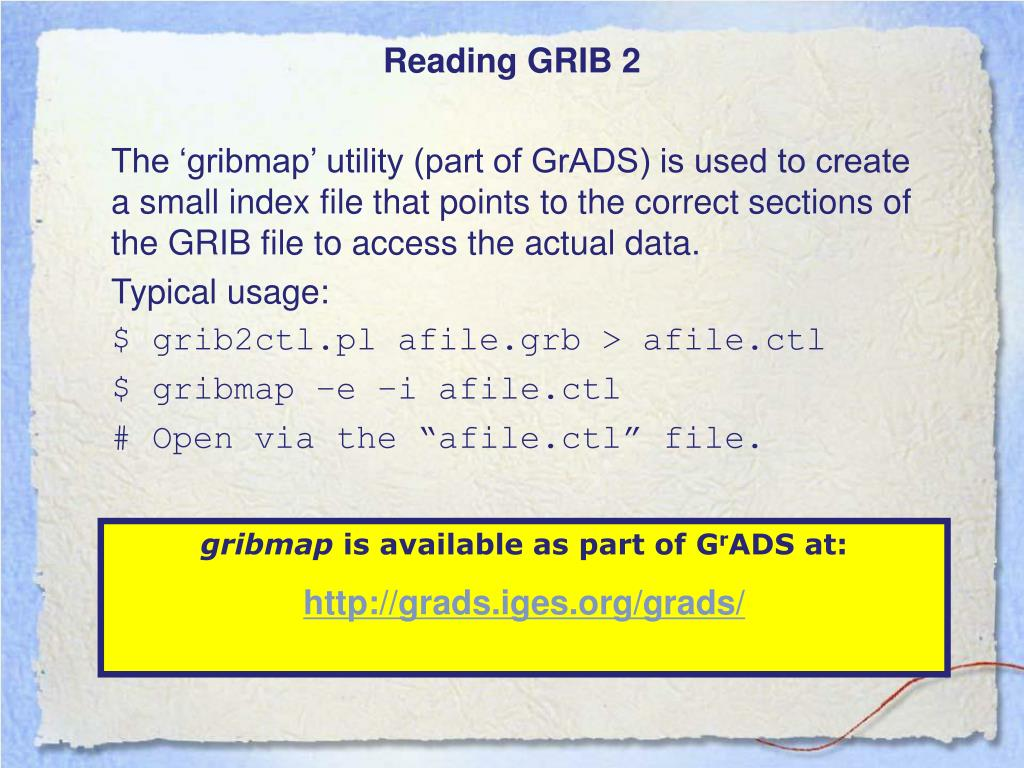 PPT - Reading and writing CDMS-incompatible ASCII or binary