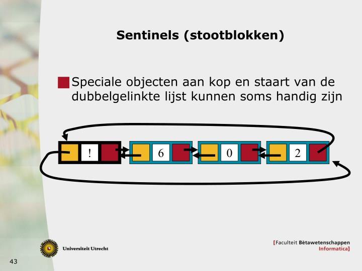 Sentinels (stootblokken)