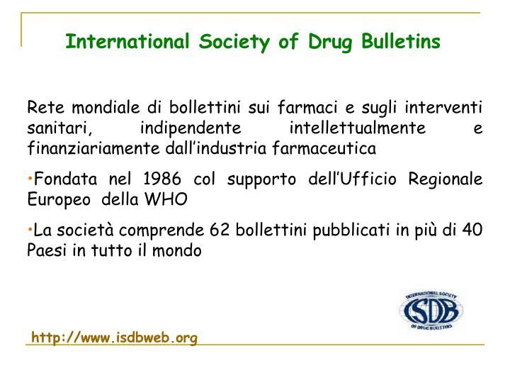 International Society of Drug Bulletins
