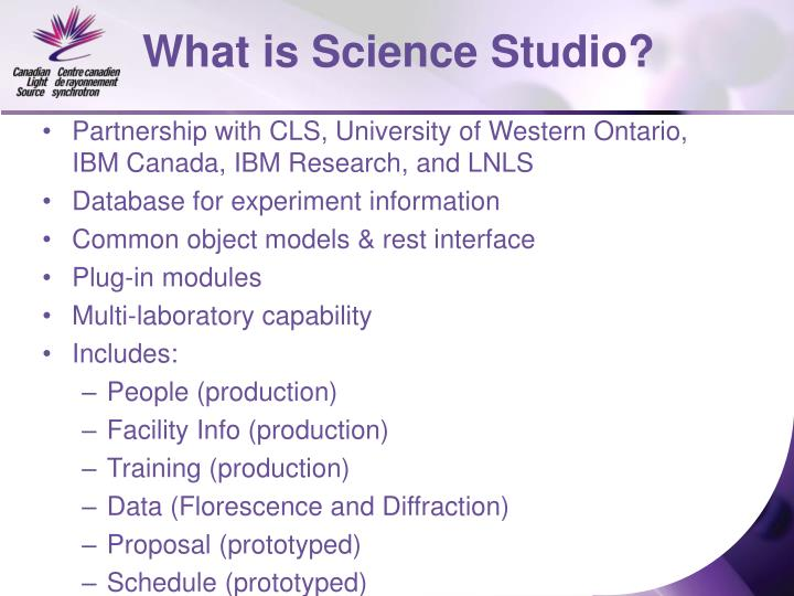 What is Science Studio?