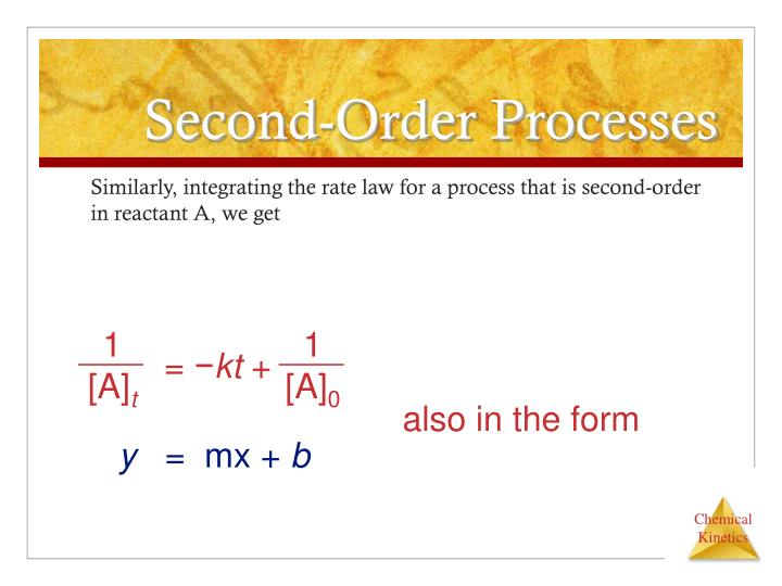 second order processes n.