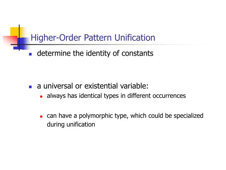 Higher-Order Pattern Unification