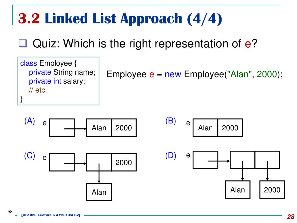 PPT - CS1020 Data Structures and Algorithms I Lecture Note