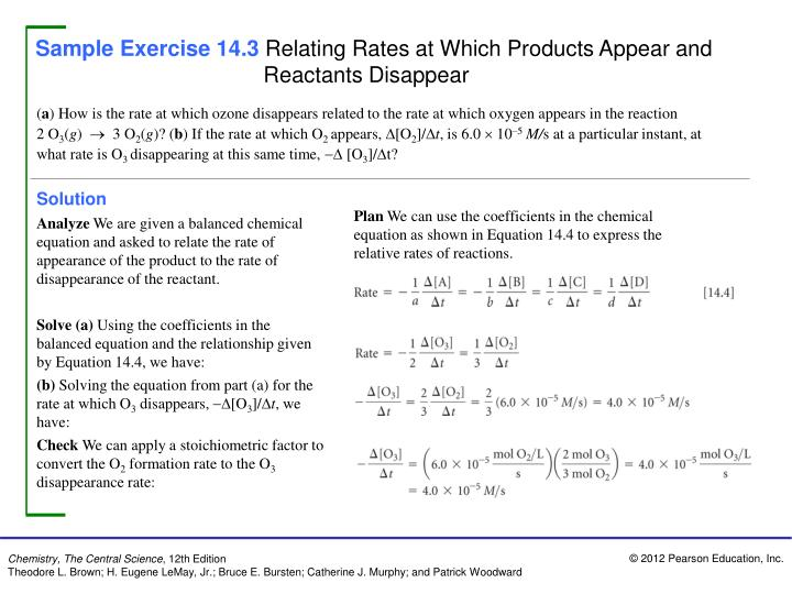 Sample Exercise 14.3